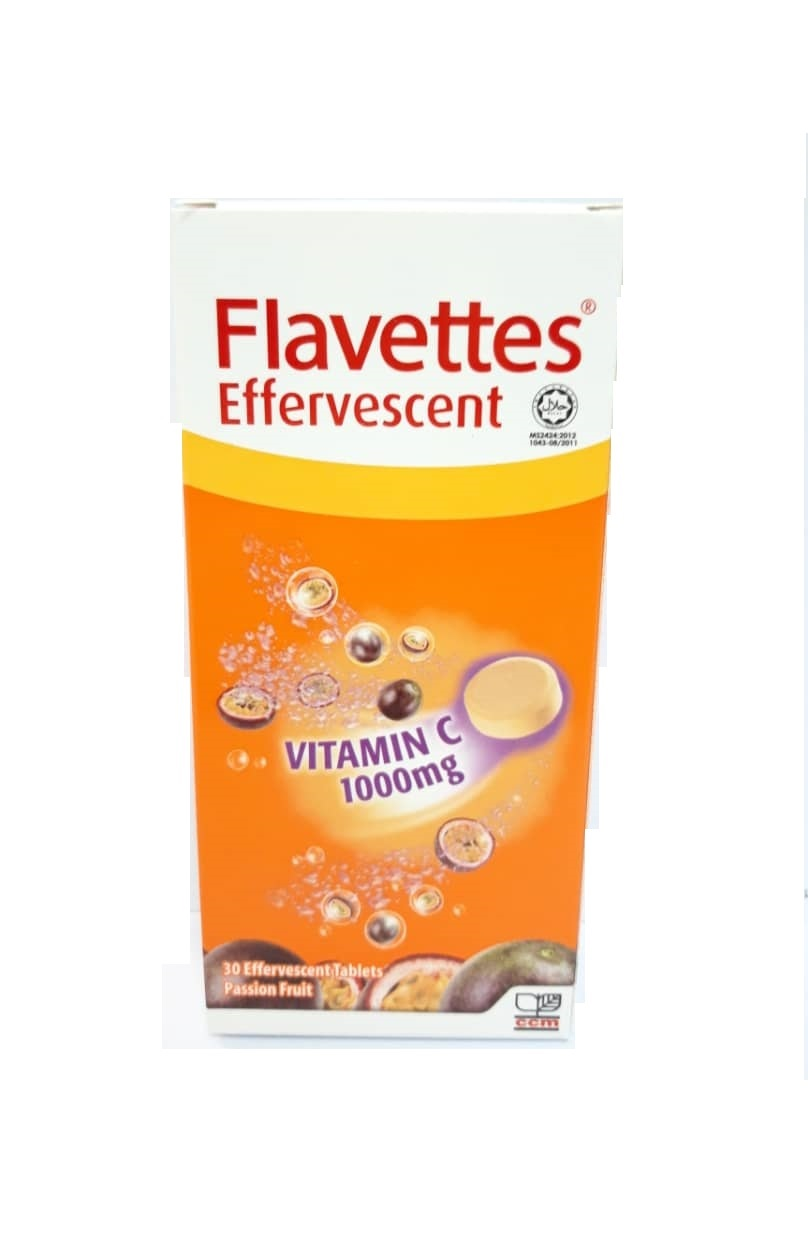 FLAVETTES VITAMIN C 1000MG