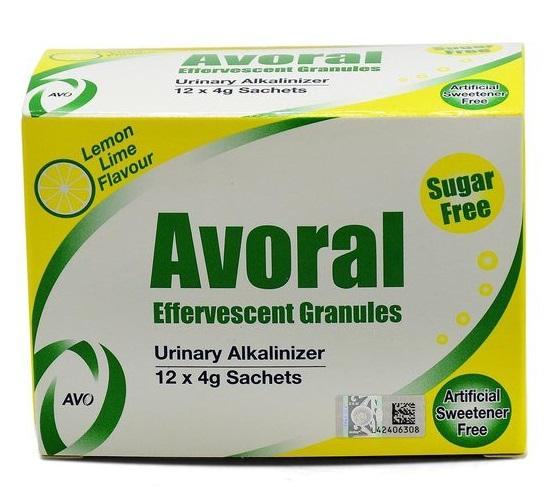 AVORAL EFFERVESCENT GRANULE 4G