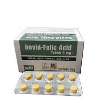 FOLIC ACID 5MG (HOVID)