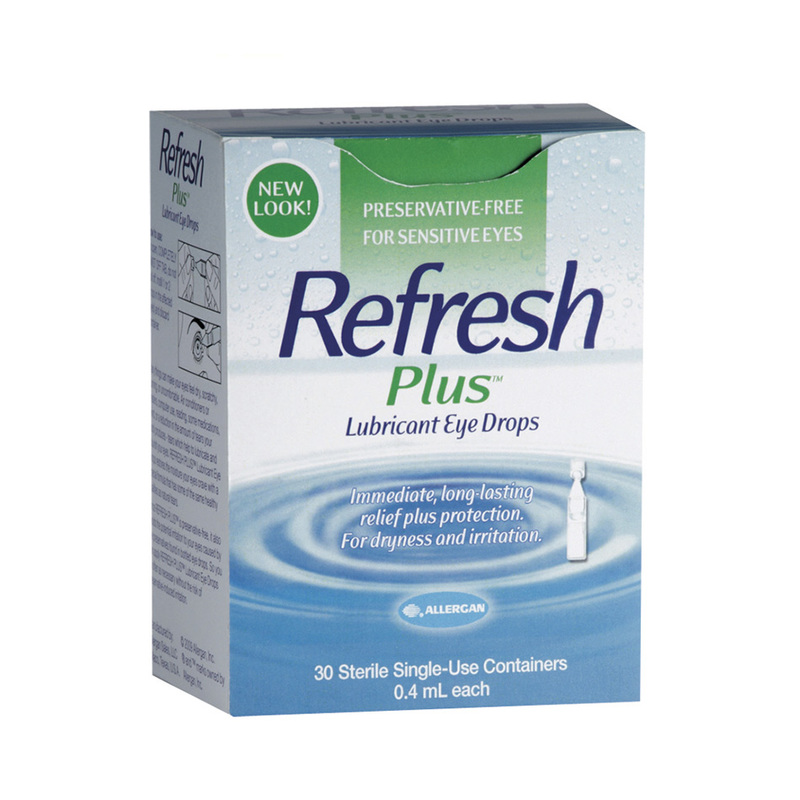 REFRESH PLUS EYE DROP 0.4ML
