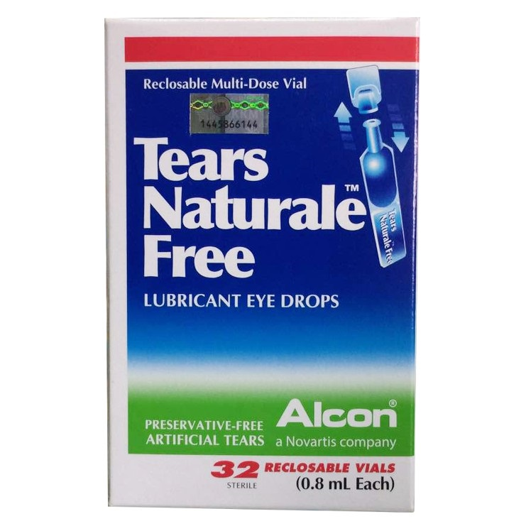 TEAR NATURALE FREE UD EYE DROP 0.8ML