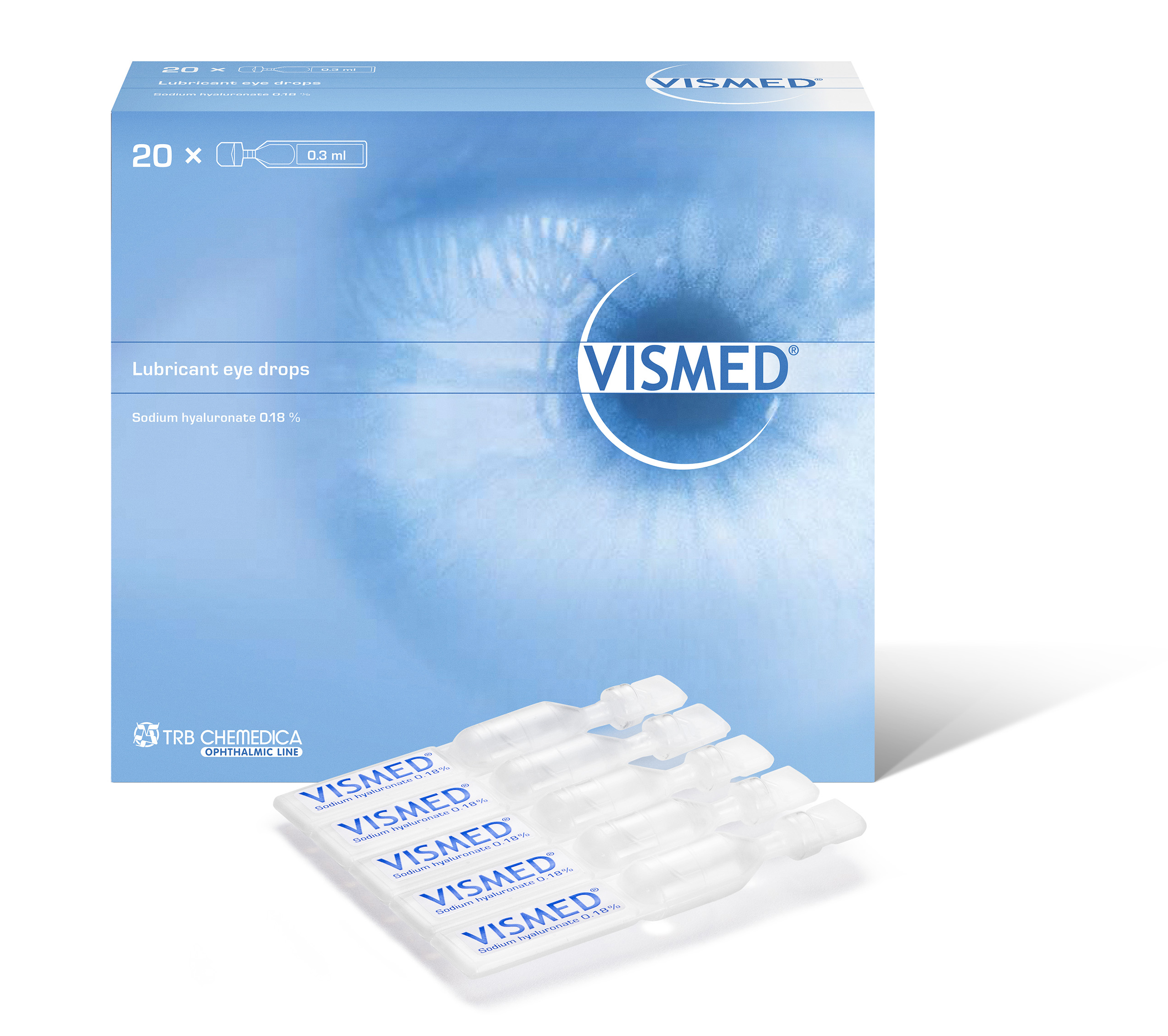 VISMED EYE DROP 0.3ML