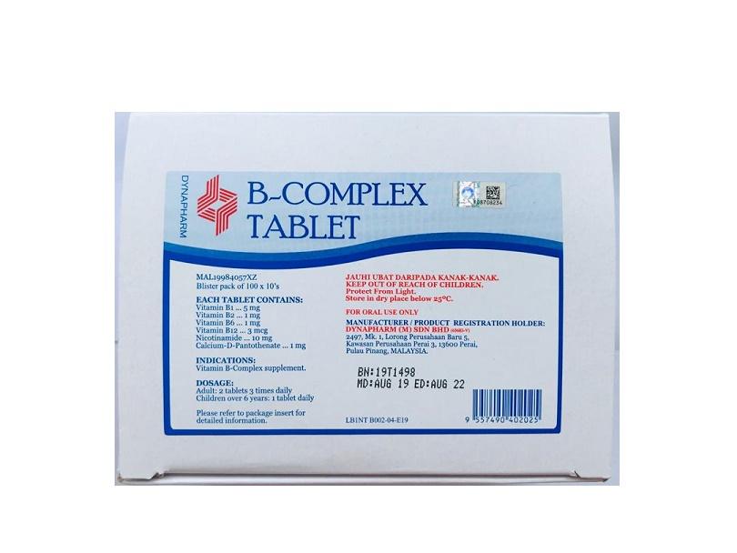 VITAMIN B-COMPLEX (DYNA)