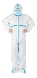 MEDI2U ICU/STERILE GOWNS WHITE