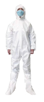 MEDI2U ISOLATION GOWN AND SHOE COVER