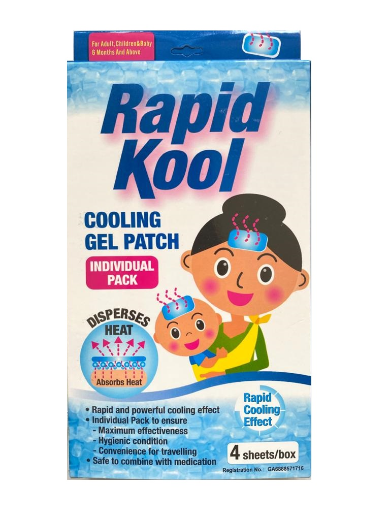 RAPIDKOOL COOLING GEL PATCH