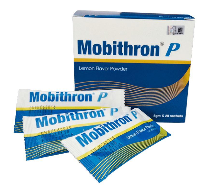 MOBITHRON P LEMON FLAVOR POWDER 28'S