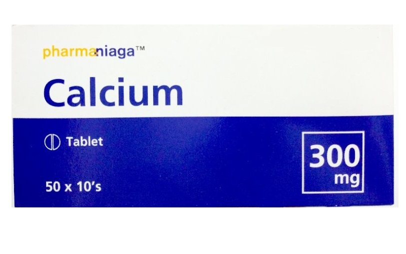 CALCIUM LACTATE 300MG 10'S (PHARMANIAGA)