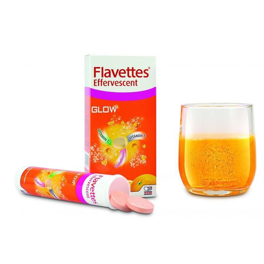 FLAVETTES GLOW VITAMIN C 1000MG