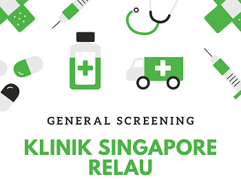 KLINIK SINGAPORE RELAU - LIPID + GLUCOSE TEST