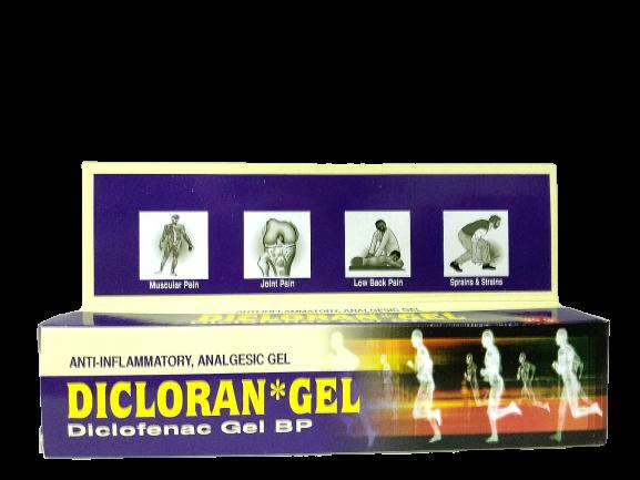 DICLORAN GEL 20G