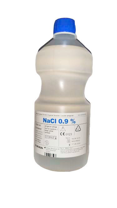 SODIUM CHLORIDE 0.9% 1000ML