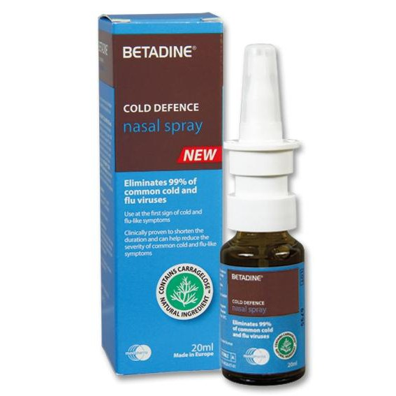 BETADINE COLD DEFENCE NASAL SPRAY 20ML