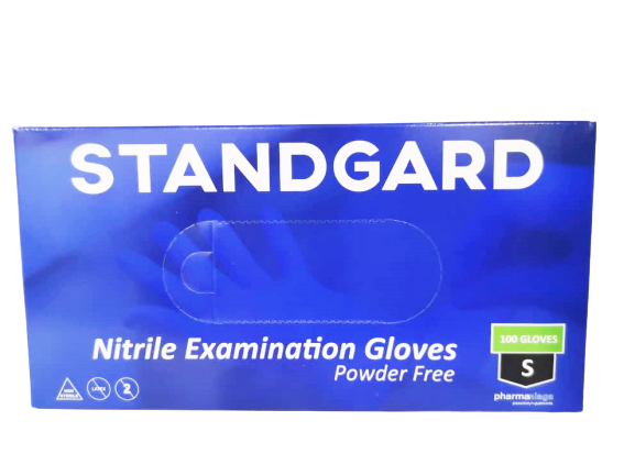 STANDGARD NITRILE SIZE S 100'S  (PN)